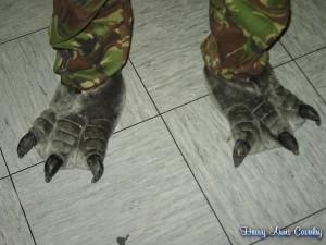 Auf der Kittery 07 - Monster erkennt man an den Füßen