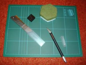 Tepichmesserklingen und Bastelcutter
