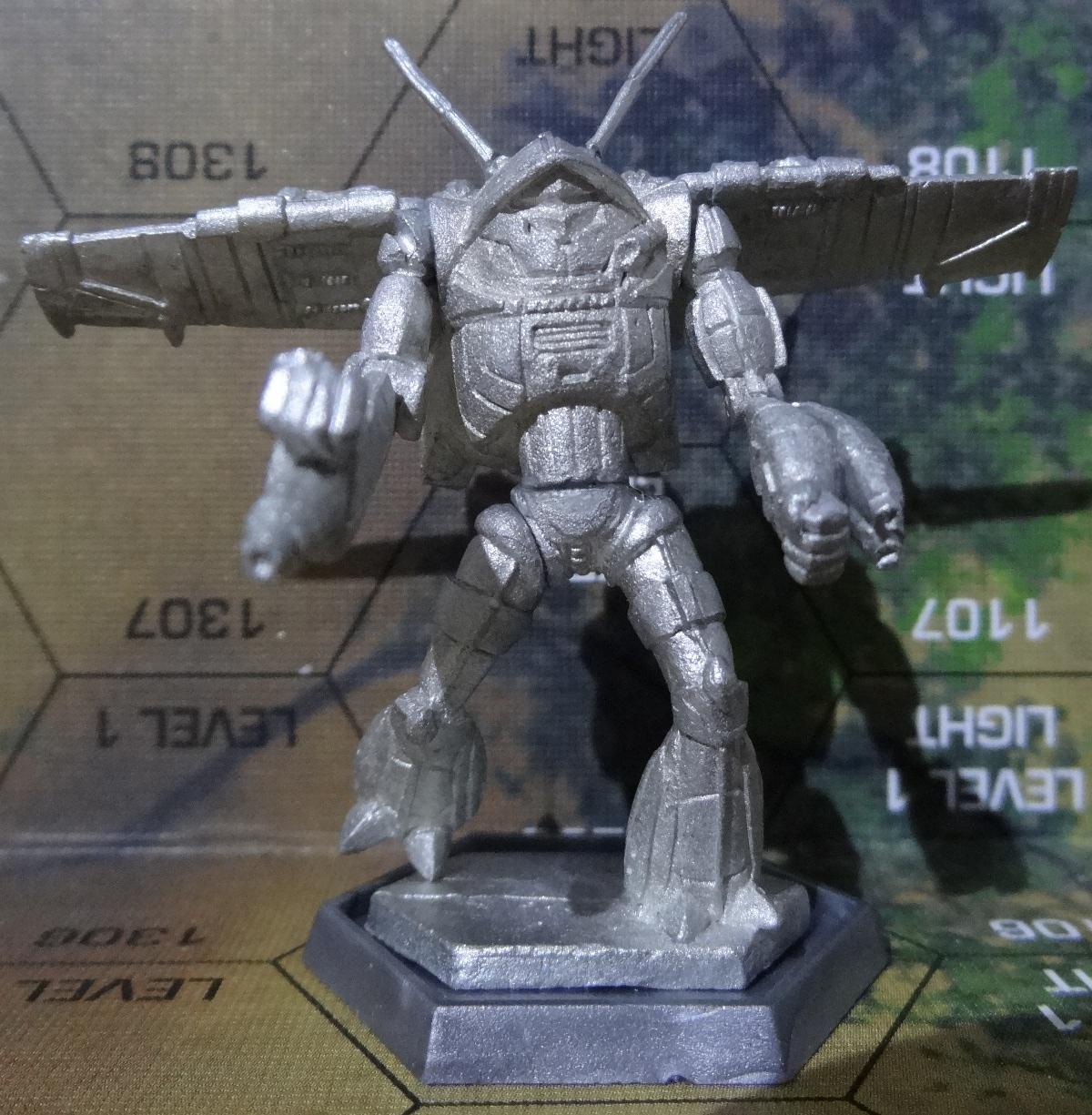 Der Wraith TR2-X von vorne - anklicken für großes Bild