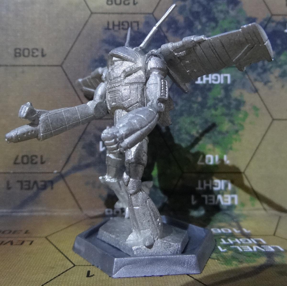 Der Wraith TR2-X von vorne links - anklicken für großes Bild