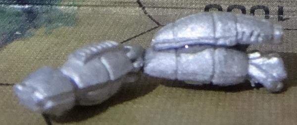 Während der rechte Arm trocknet kommen die Laser auf den linken Arm.