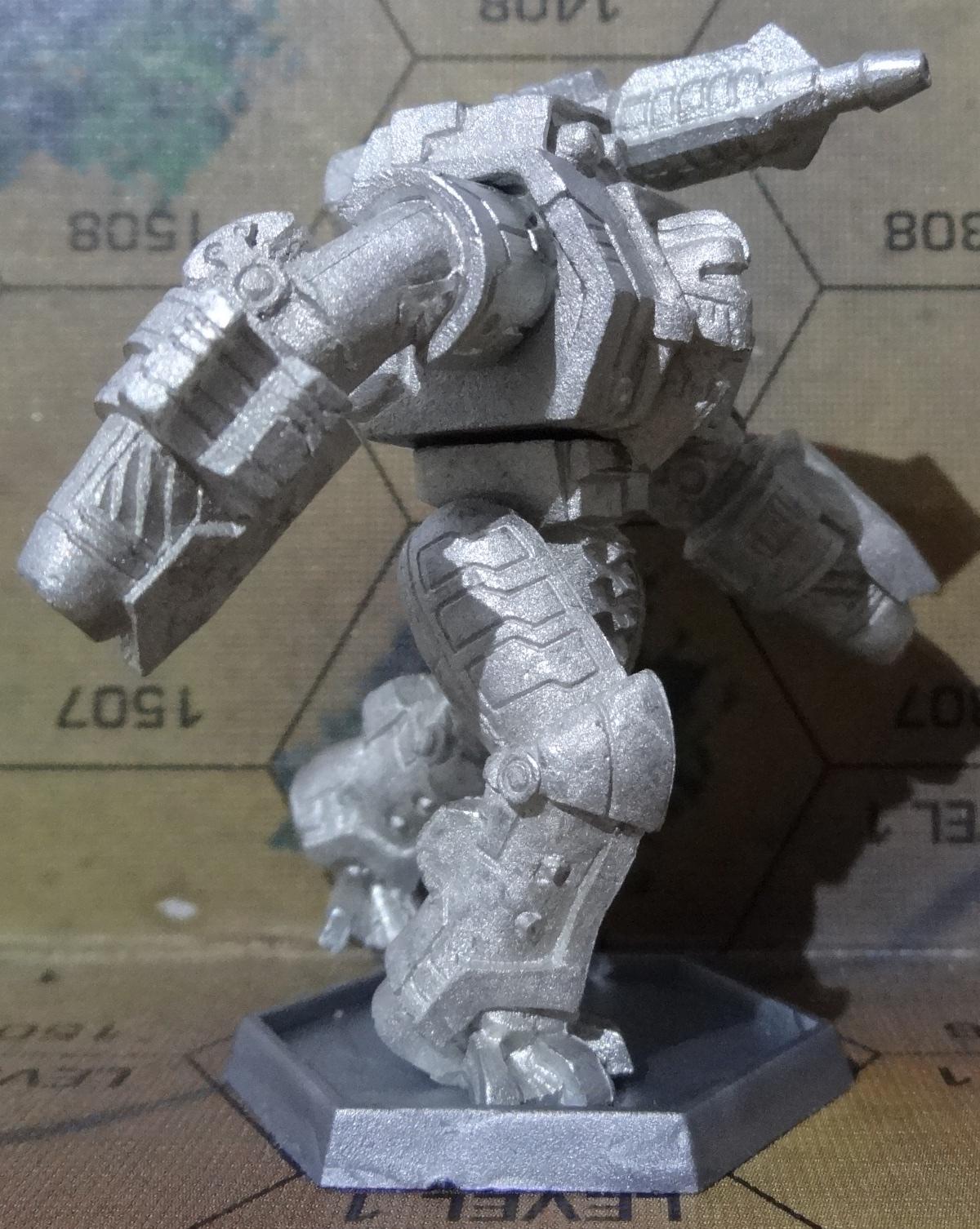 Die Hauberk Battle Armor Commado von vorne rechts - anklicken für ein größeres Bild