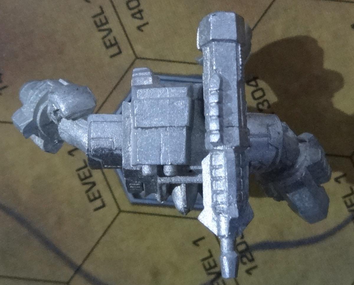 Die Hauberk Battle Armor Commado von oben - anklicken für ein größeres Bild