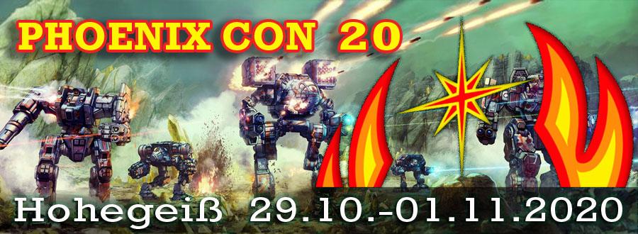 Phoenix Con 2020 – Anmeldung eröffnet