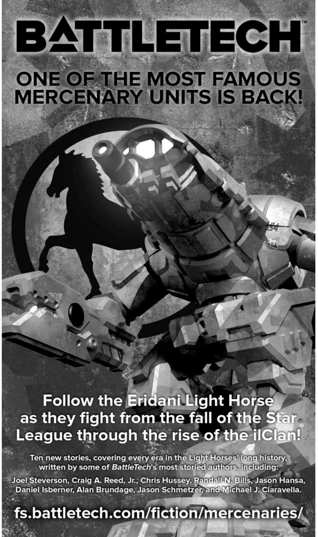 Eridani Light Horse – Kurzgeschichtenreihe und mehr Söldner