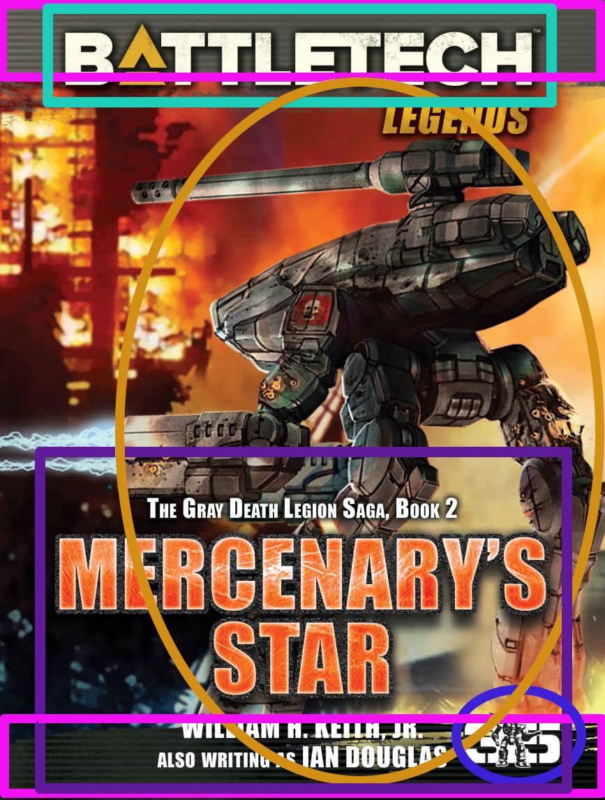 Coververgleich: Mercenary's Star/Der Söldnerstern (Gray Death Legion Saga)