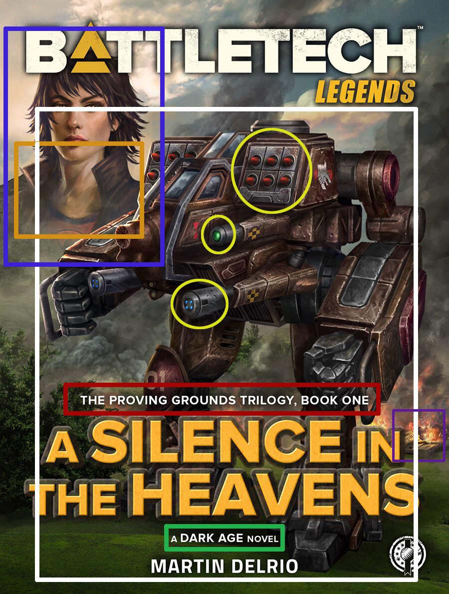 Coververgleich: A Silence in the Heavens/Der Himmel Schweigt