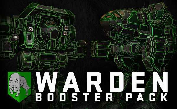MWO Warden Booster Pack