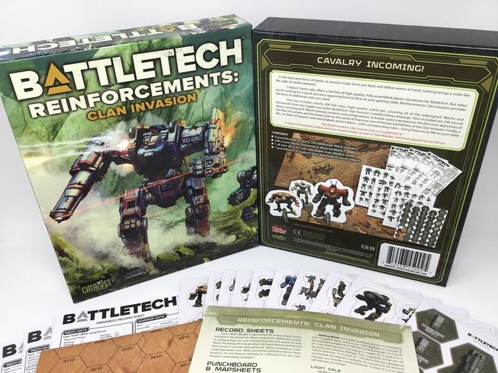 Kickstarter Update 169: Reinforcements: Clan Invasion Box Set