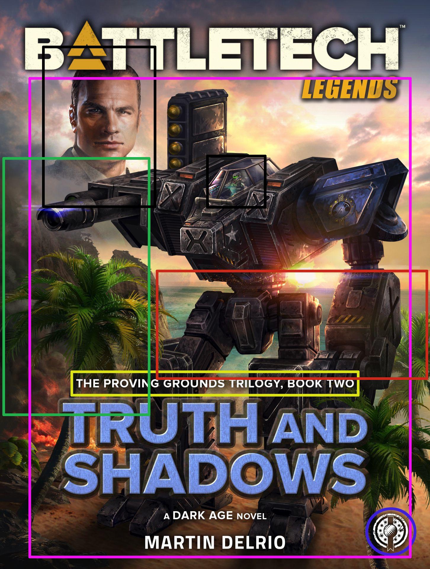 Coververgleich: Truth and Shadows / Schatten der Wahrheit