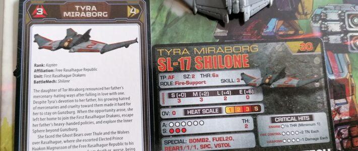 Tyra Miraborg – Die Pilotenkarte